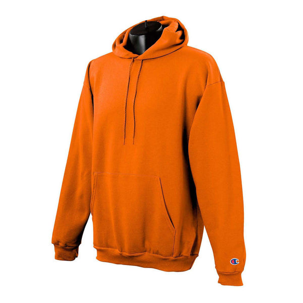 Champion Men's Orange Hoodie
