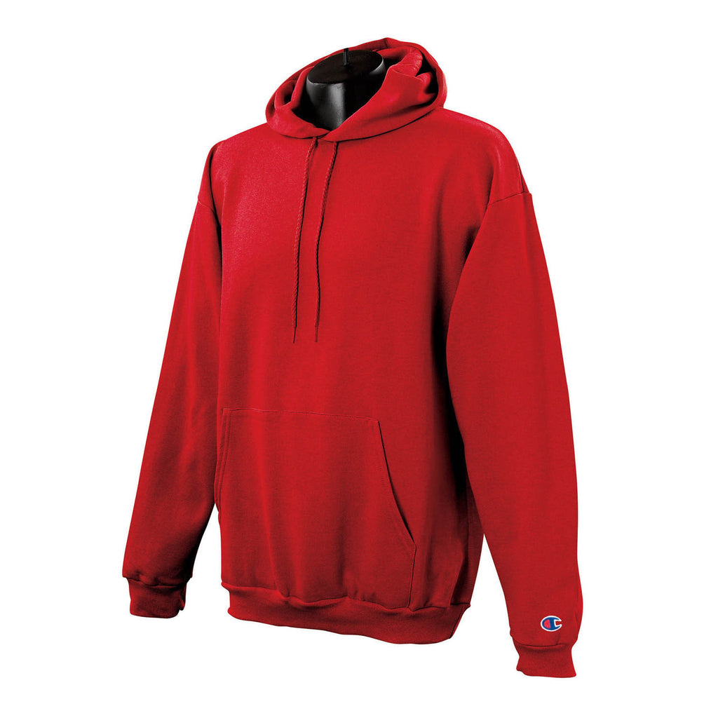e40eb9c16 Champion Men's Scarlet Red Hoodie. ADD YOUR LOGO