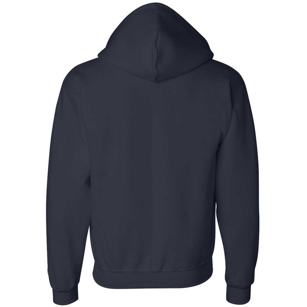 Champion Men's Navy Eco 9-Ounce Full Zip Hood