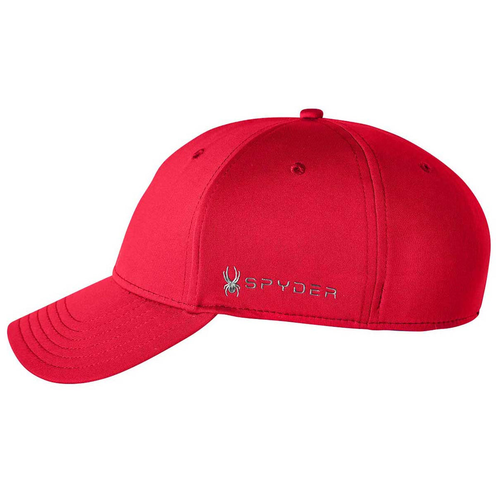 Spyder Red Frostbit Hat