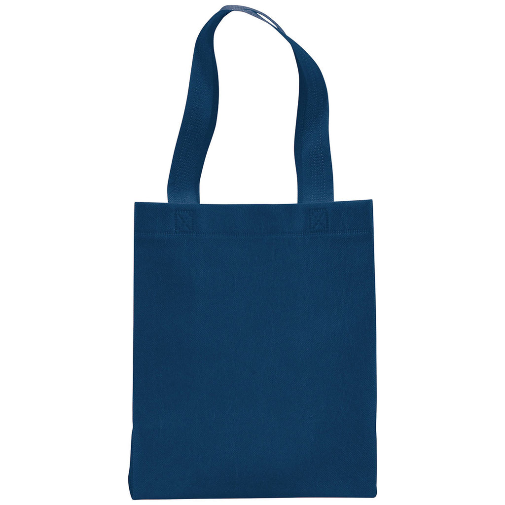 Bullet Navy Blue Challenger Mini Non-Woven Tote