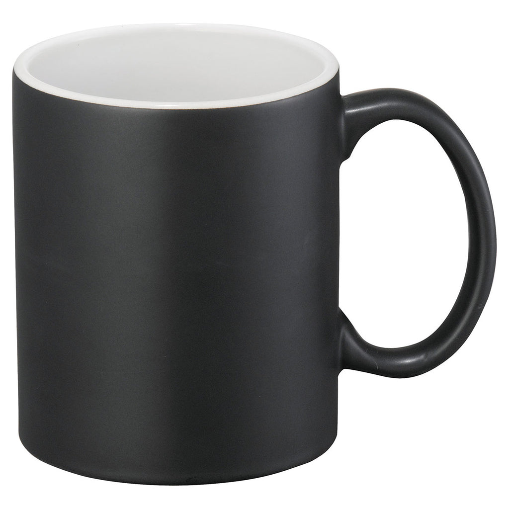 Bullet Black with White Lining Maya 11oz Ceramic Mug