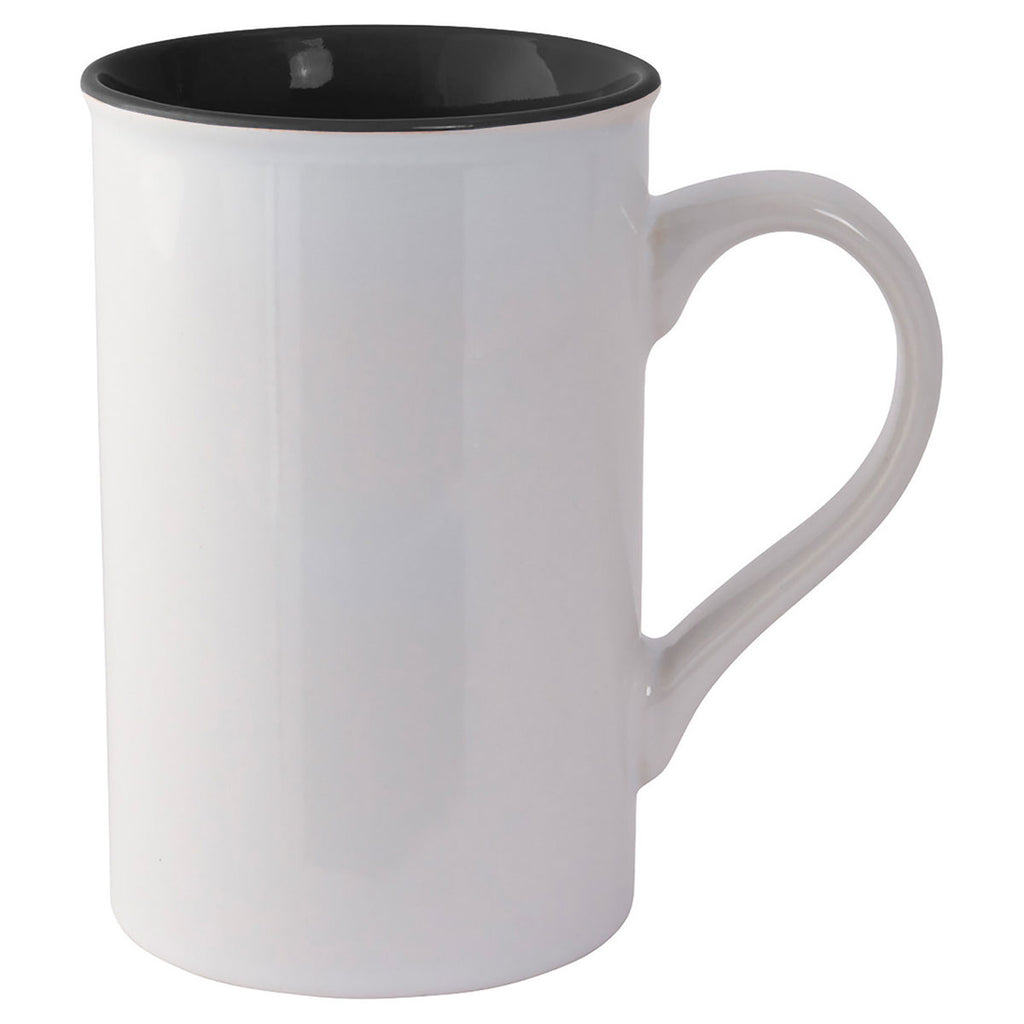 Bullet Black Rio 12oz Ceramic Mug