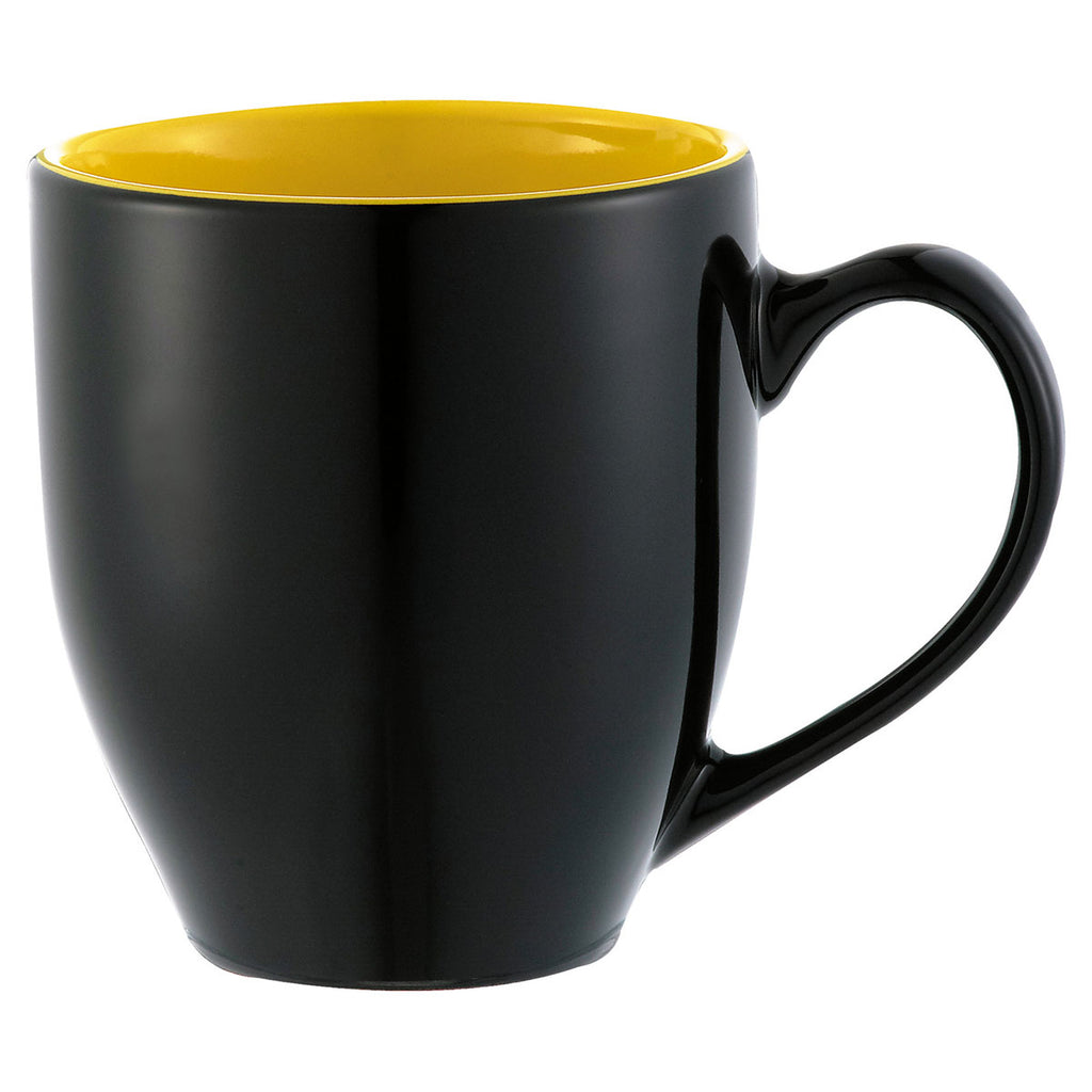 Bullet Black With Yellow Lining Zapata 15oz Mug Electric