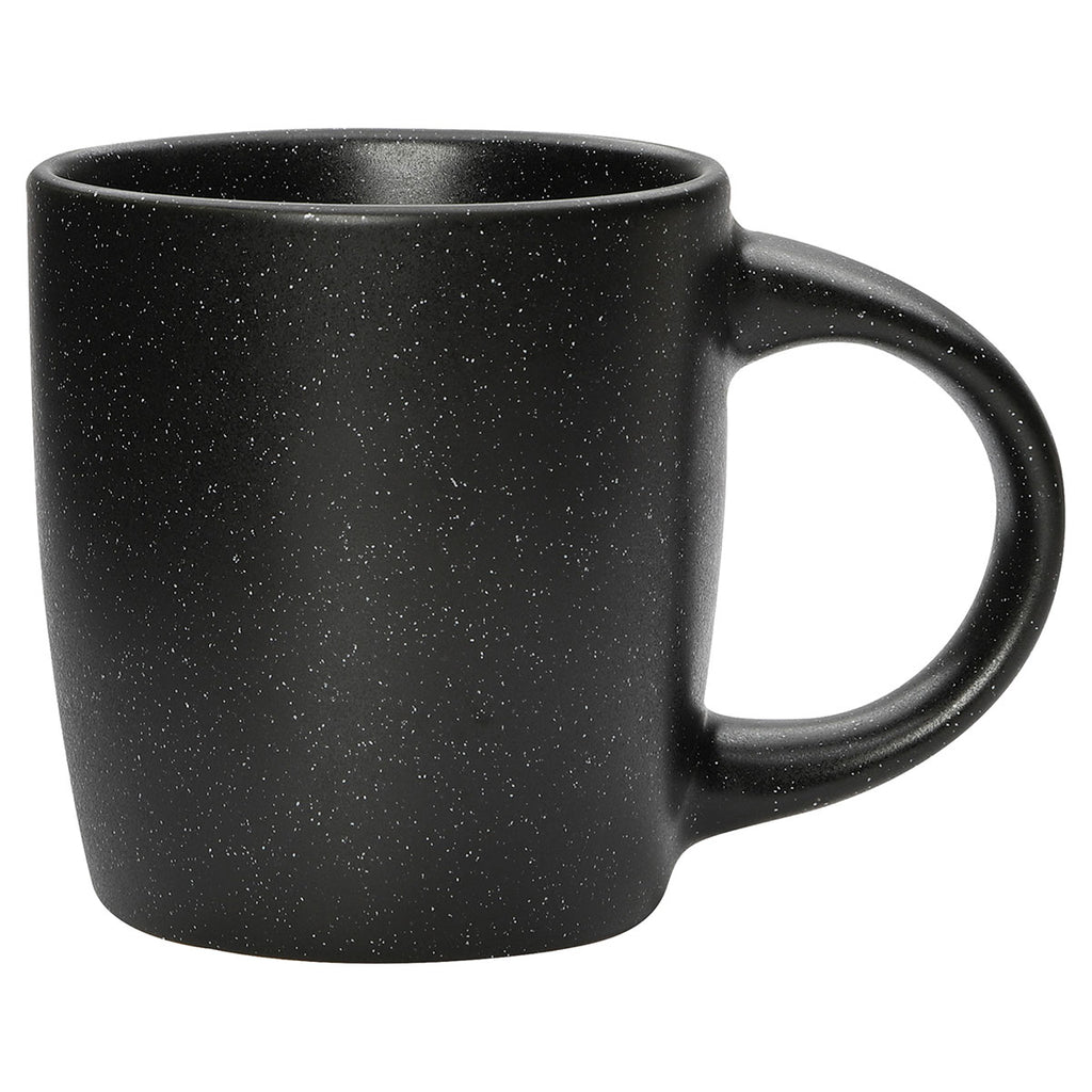 Bullet Black Meadows Speckled 12oz Ceramic Mug