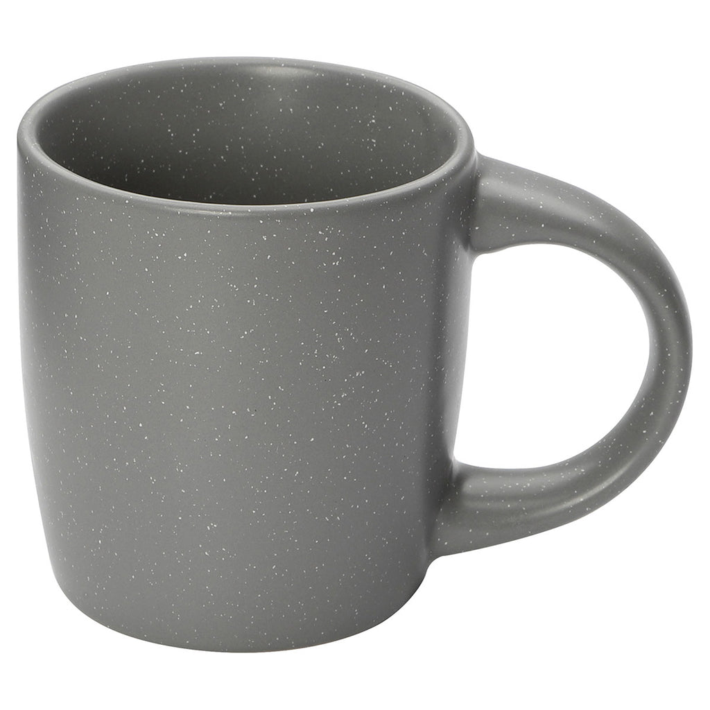 Bullet Grey Meadows Speckled 12oz Ceramic Mug