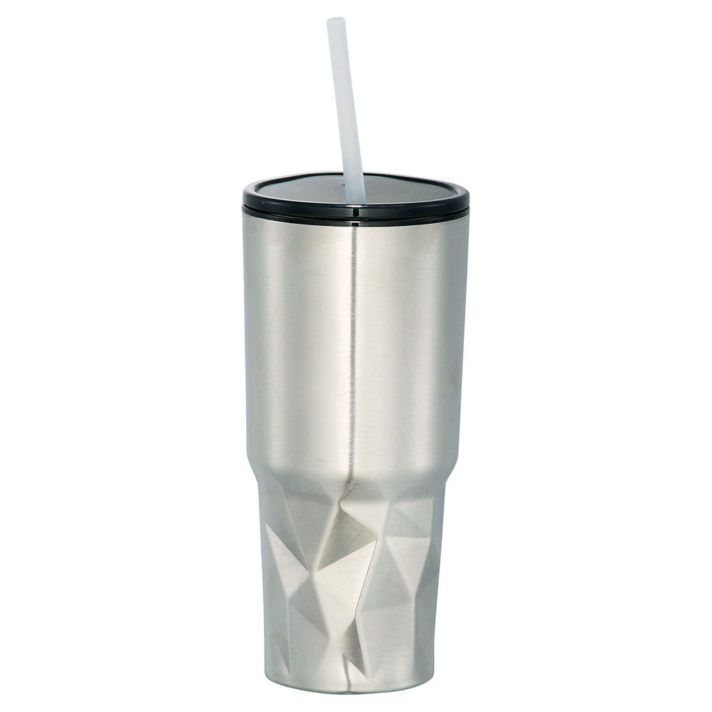 Bullet Silver Geo 20oz Travel Insulated Tumbler