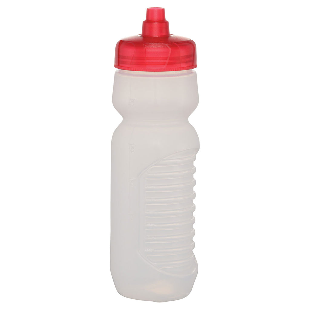 Bullet Red Quench 24oz Sports Bottle with Grip