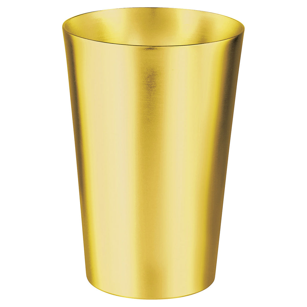 Bullet Gold Glimmer 14oz Metal Cup