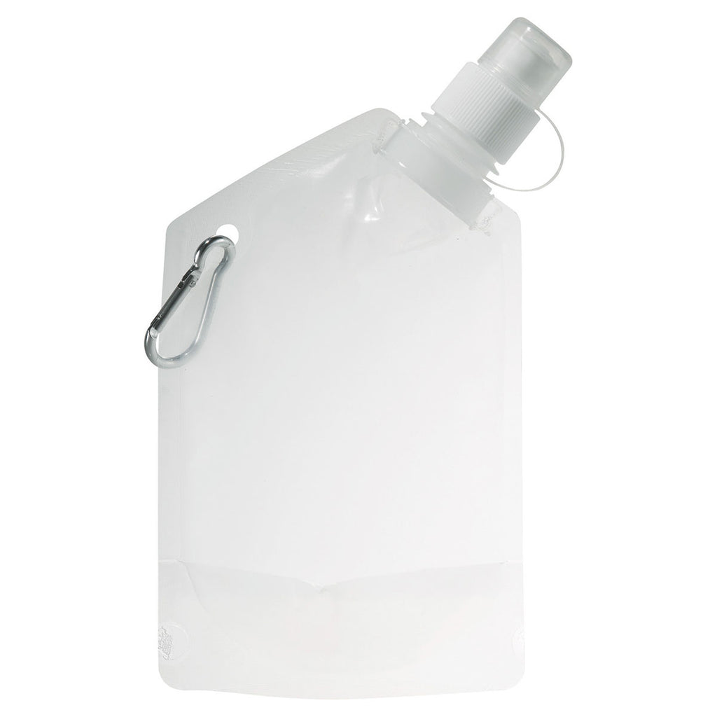 Bullet Clear Baja 12oz Water Bag with Carabiner