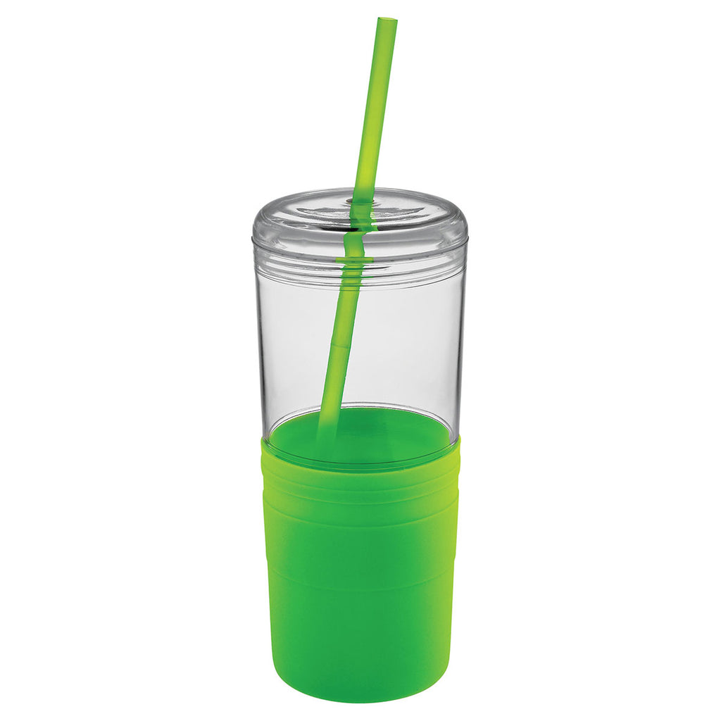 Bullet Lime Green Babylon 22oz Tumbler with Straw