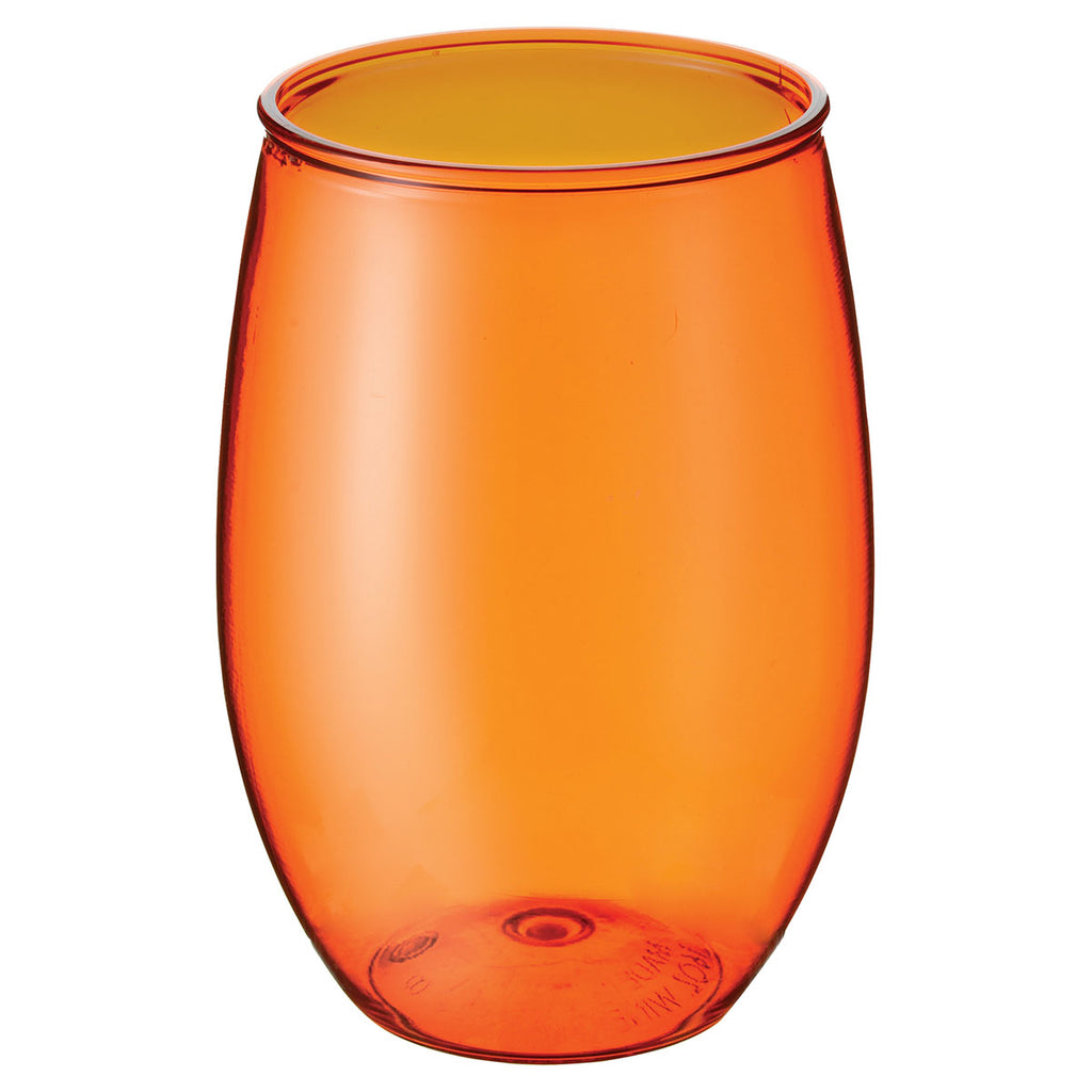 Bullet Translucent Orange Wynwood 16oz Stemless Wine Cup