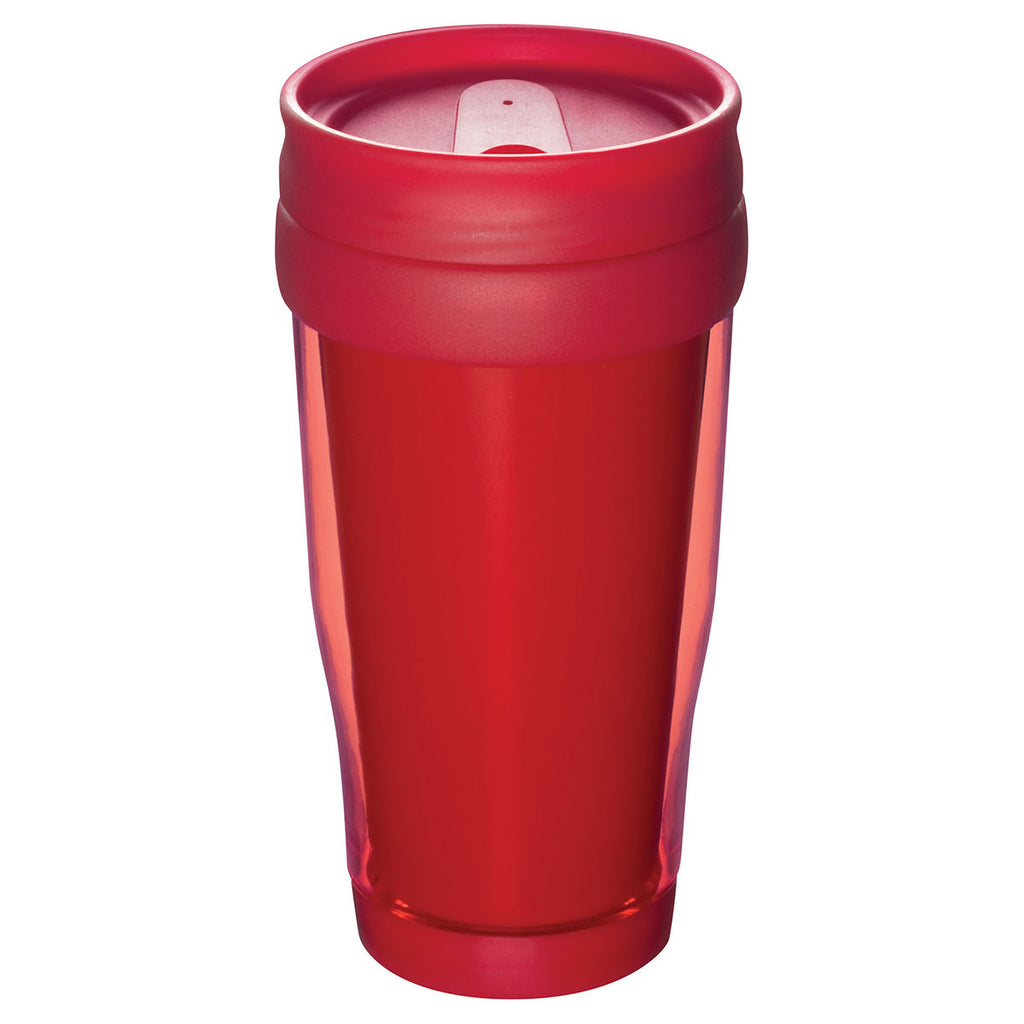 Bullet Transparent Red Columbia 16oz Insulated Tumbler