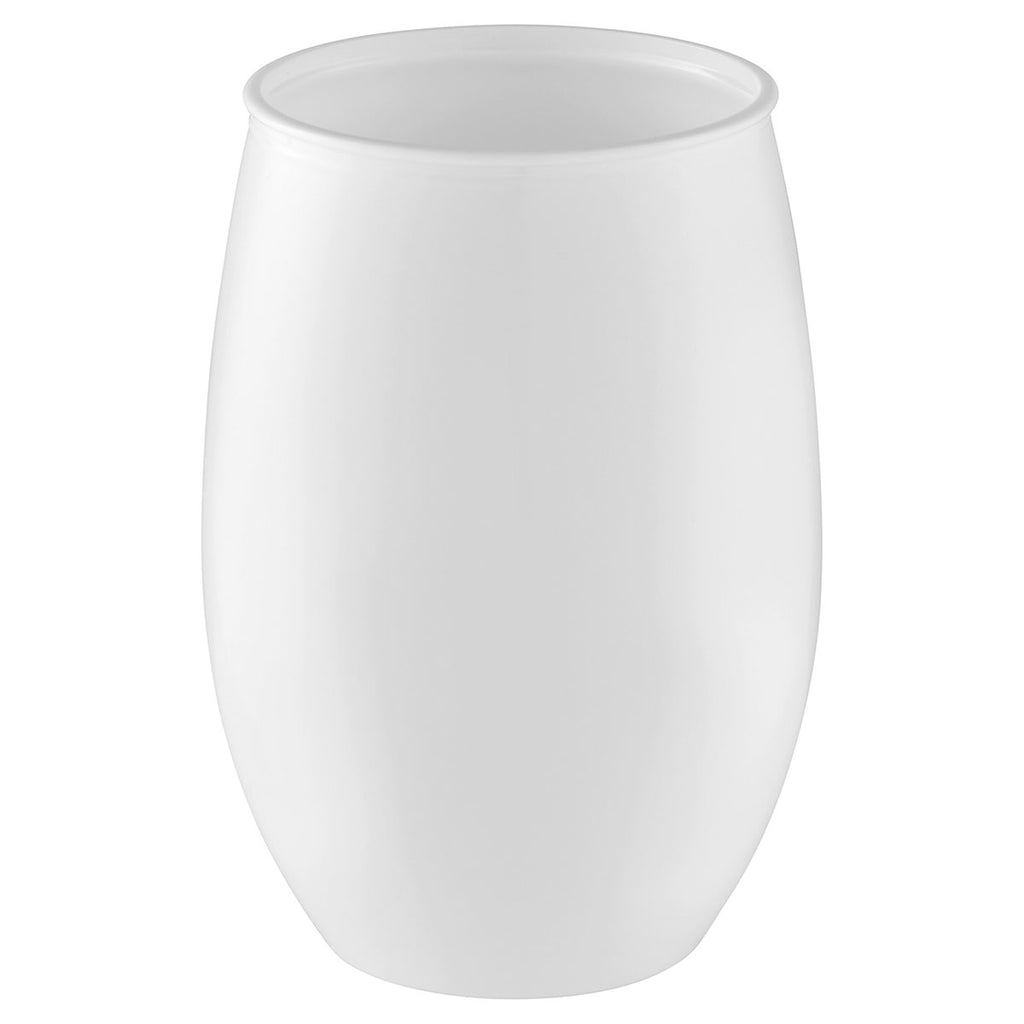 Bullet White Omni Tritan 16oz Wine Cup with Lid