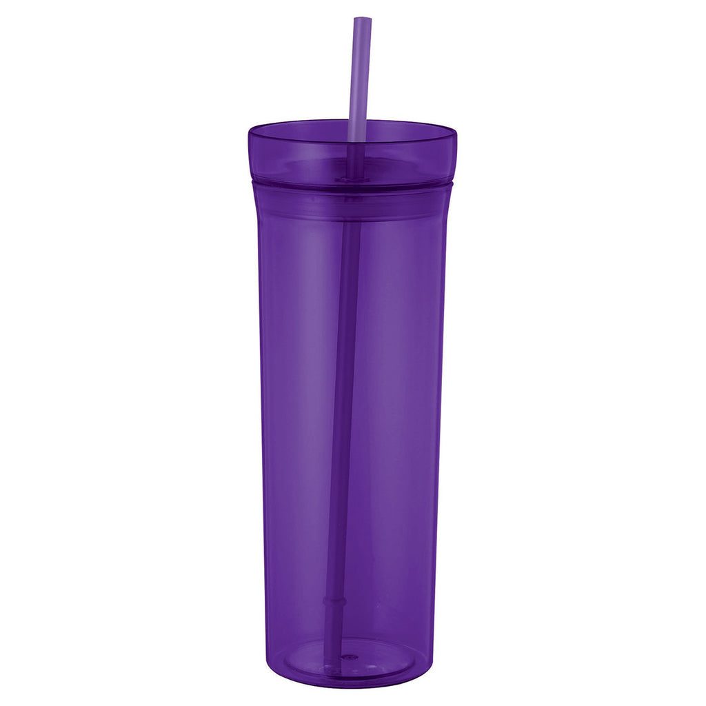 Bullet Translucent Purple Sauron 22oz Tumbler with Straw