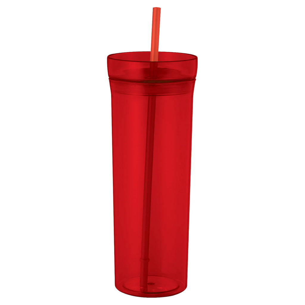 Bullet Translucent Red Sauron 22oz Tumbler with Straw