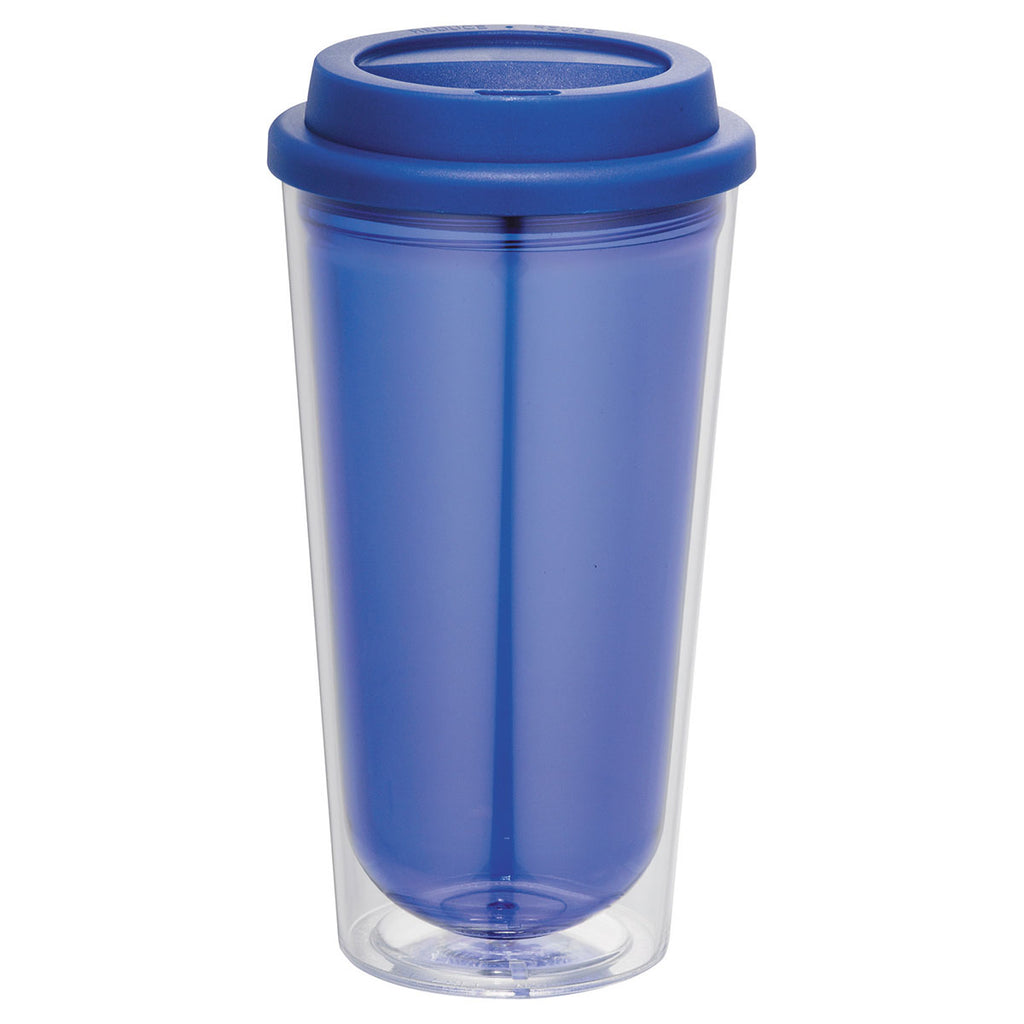 Bullet Transparent Blue Kuta 16oz Tumbler