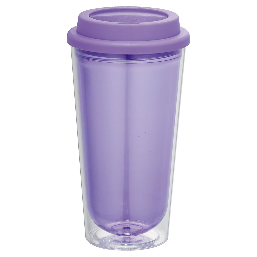Bullet Transparent Purple Kuta 16oz Tumbler
