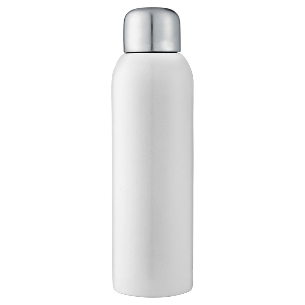 Bullet White Guzzle 28oz Stainless Sports Bottle