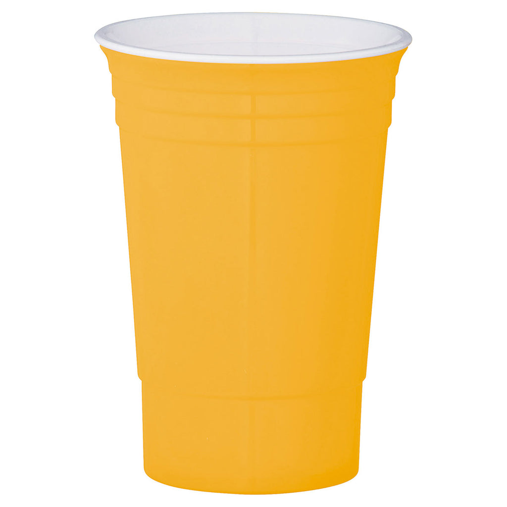 Bullet Yellow 16oz Party Cup