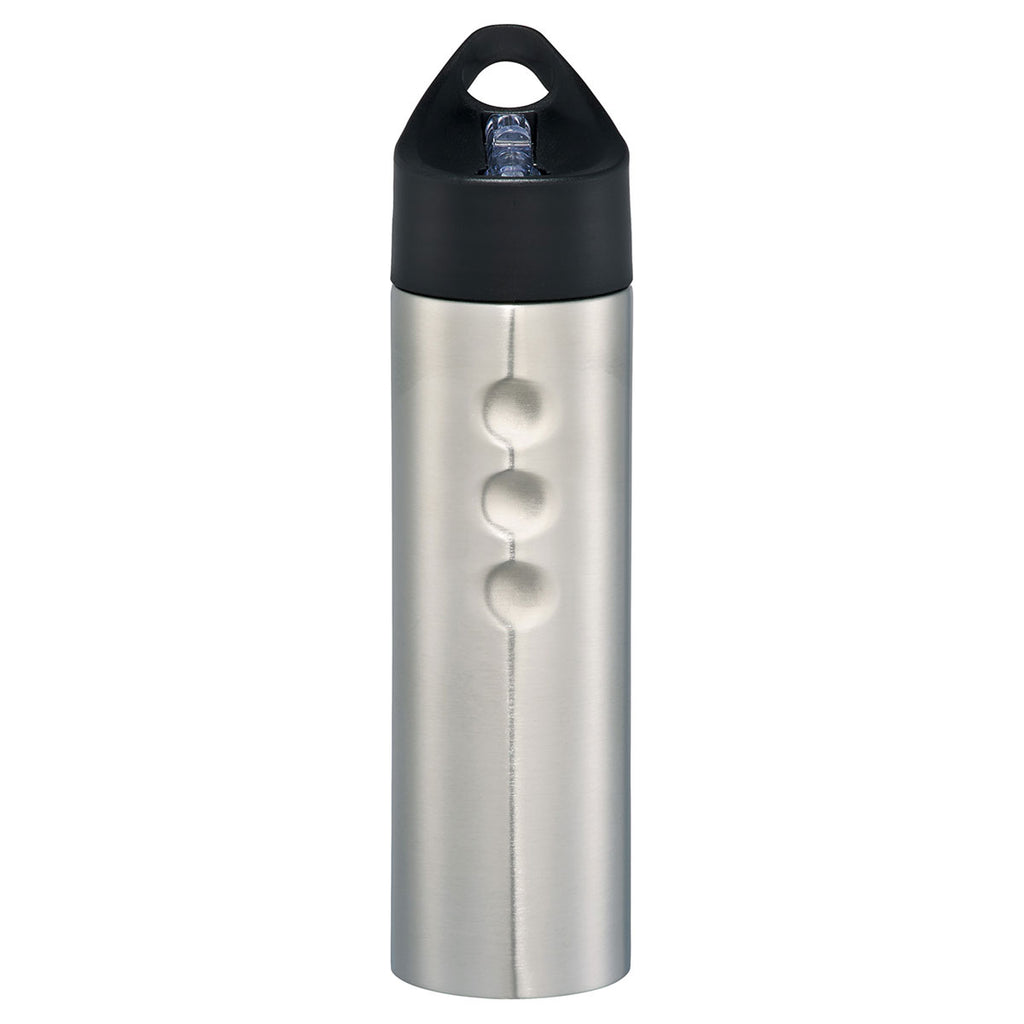 Bullet Silver Troika 25oz Stainless Sports Bottle