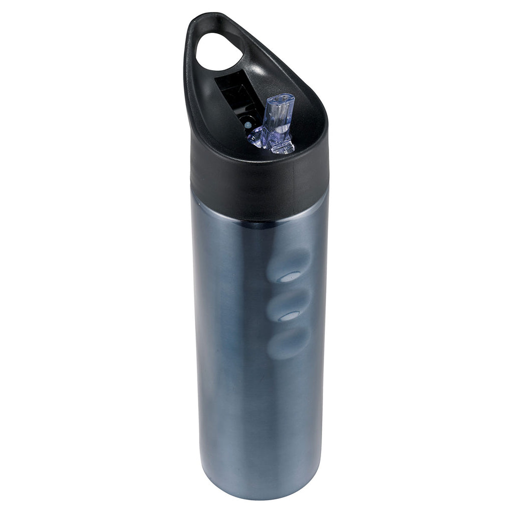 Bullet Titanium Blue Troika 25oz Stainless Sports Bottle