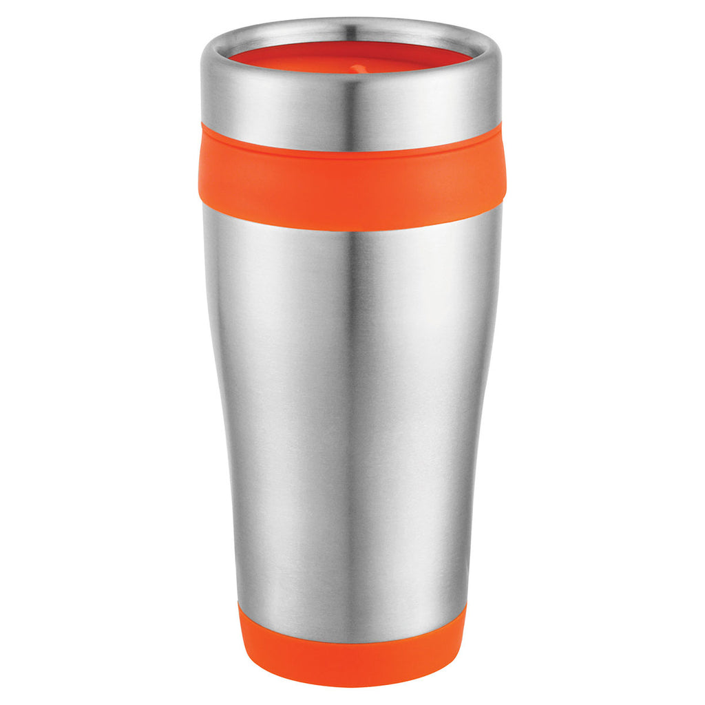 Bullet Stainless Steel with Orange Liner Carmel 16oz Travel Tumbler