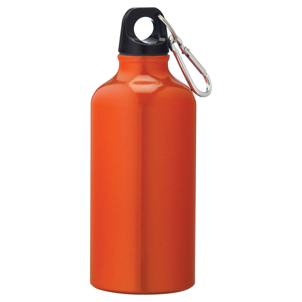 Bullet Orange Li'l Shorty 17oz Aluminum Sports Bottle