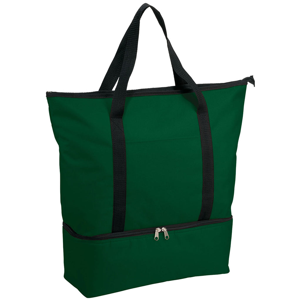 Bullet Hunter Green Drop Bottom 12-Can Cooler Tote