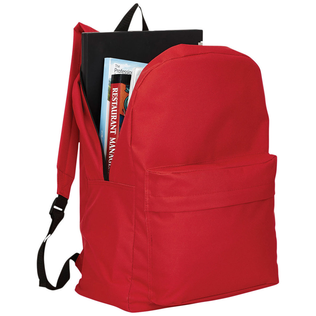 "Bullet Red Buddy Budget 15"" Computer Backpack"