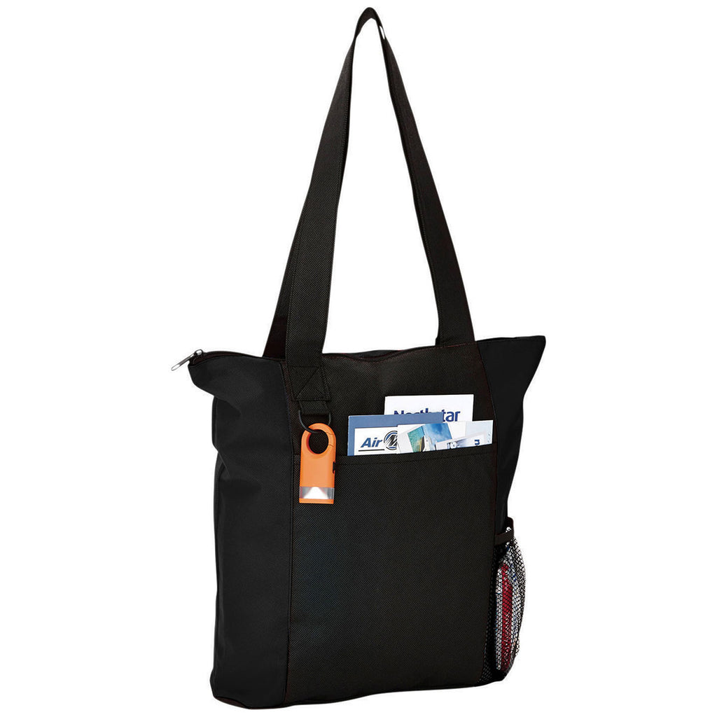 Bullet Black Beyond Zippered Convention Tote