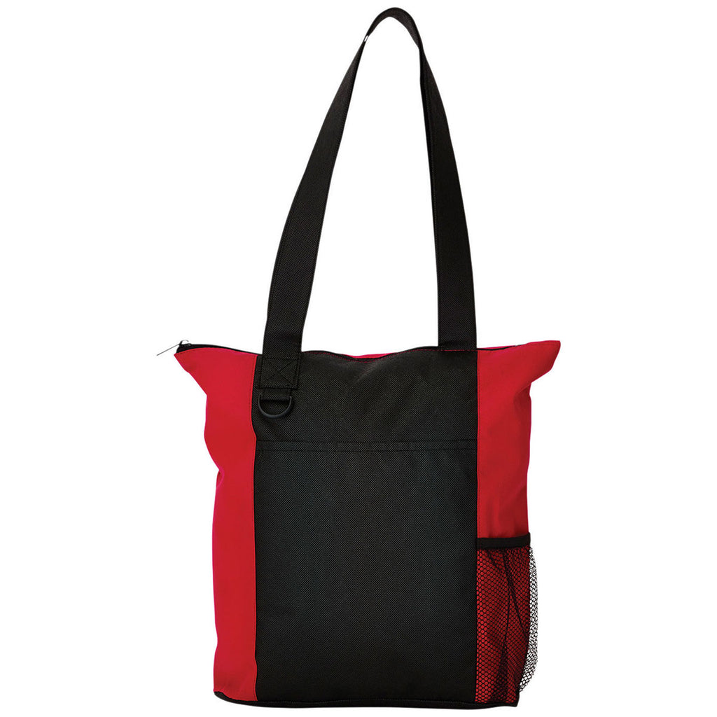 Bullet Red Beyond Zippered Convention Tote