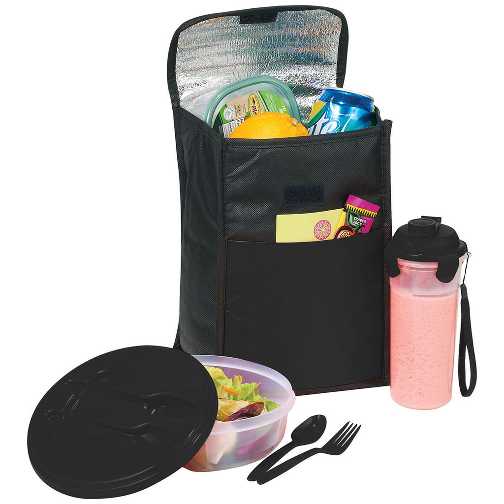 Bullet Black Stay Fit 8-Can Lunch Cooler Gift Set