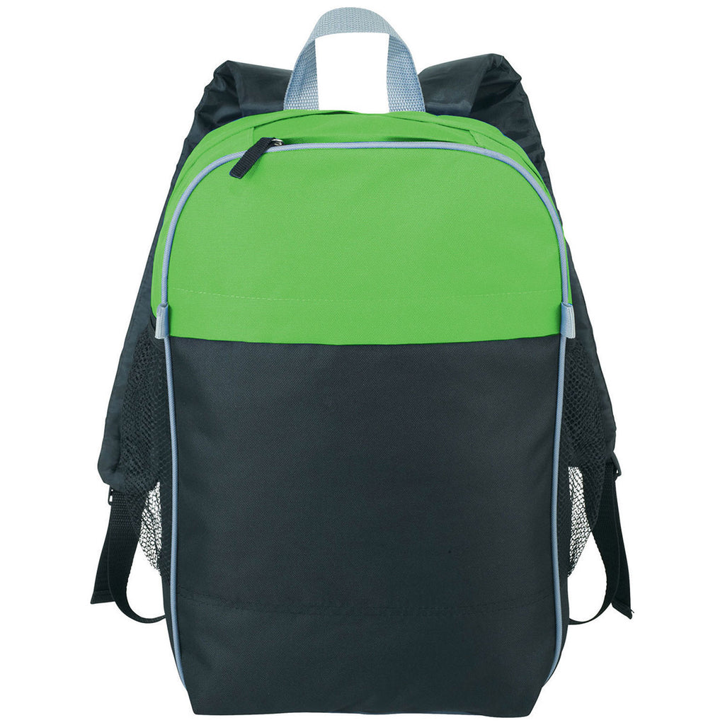 "Bullet Lime Green Color Top 15"" Computer Backpack"