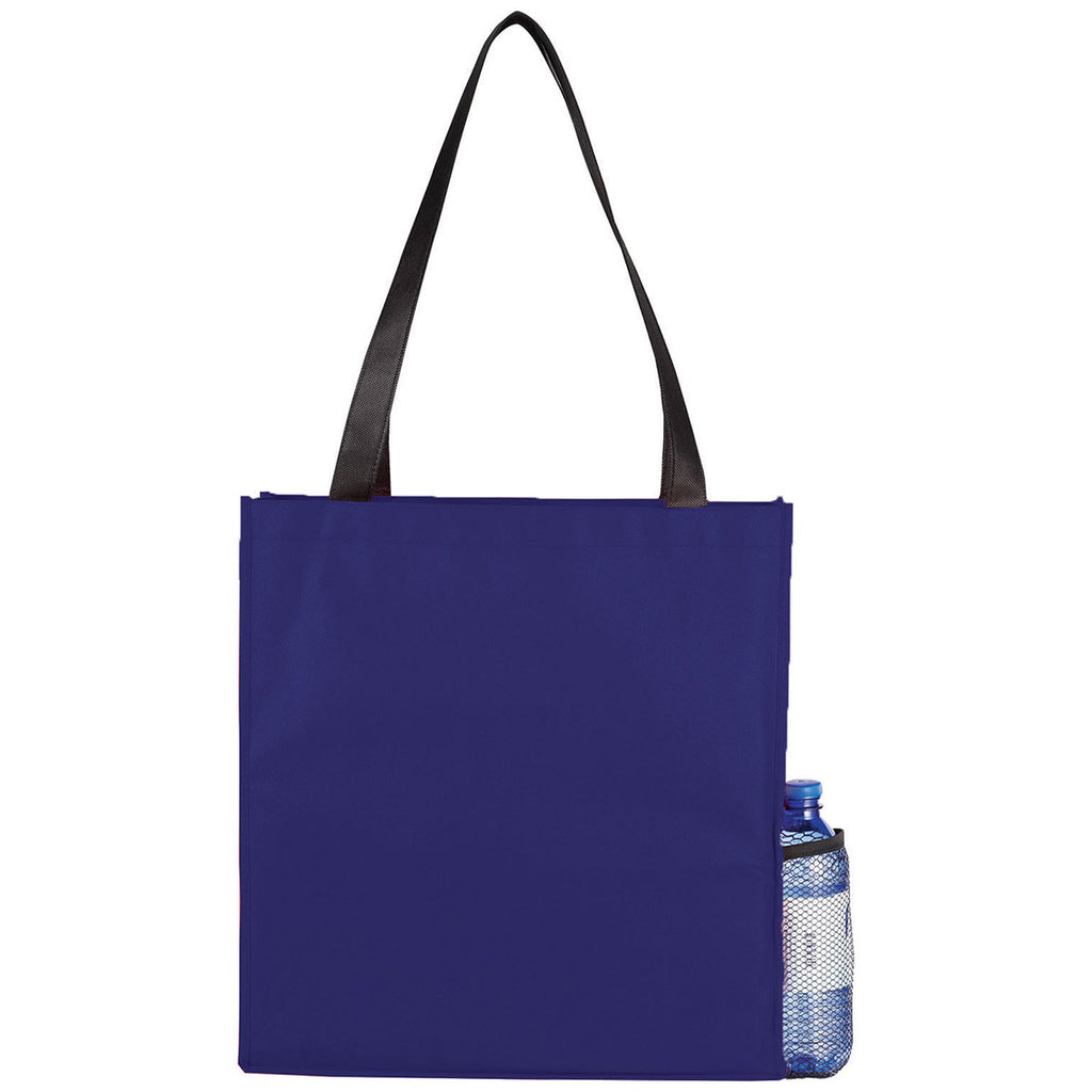 Bullet Royal Blue Boardwalk Non-Woven Convention Tote