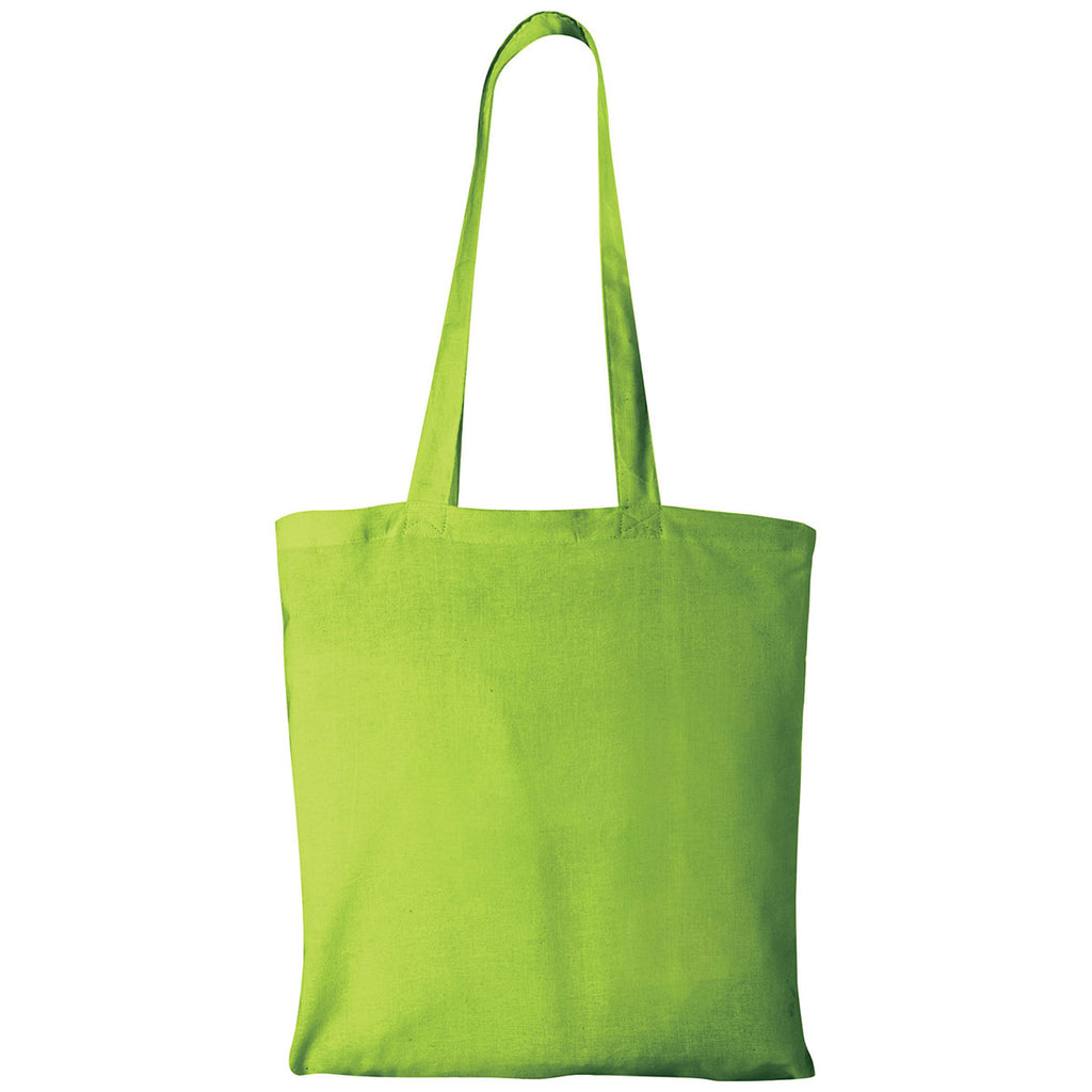 Bullet Lime Green Carolina Cotton Canvas Convention Tote