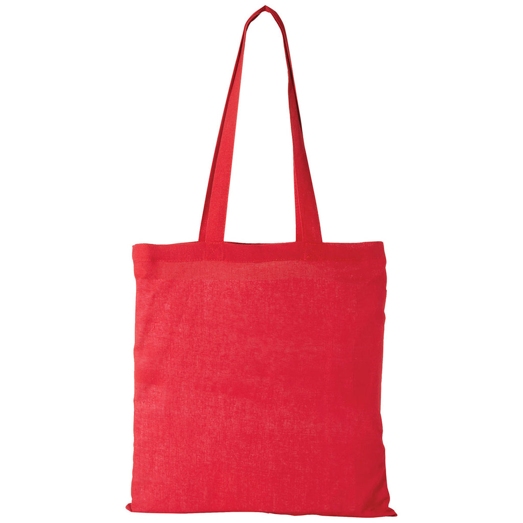 Bullet Red Carolina Cotton Canvas Convention Tote