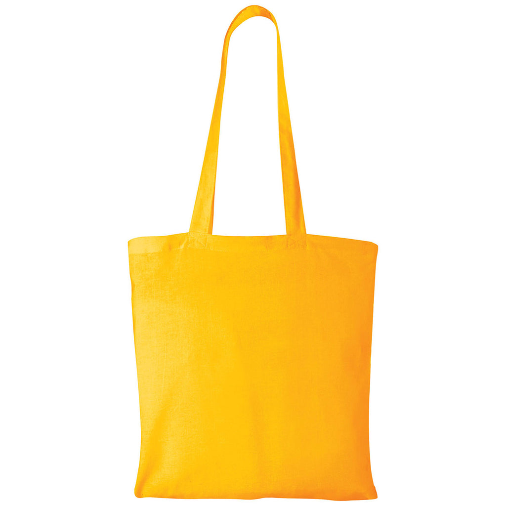 Bullet Yellow Carolina Cotton Canvas Convention Tote