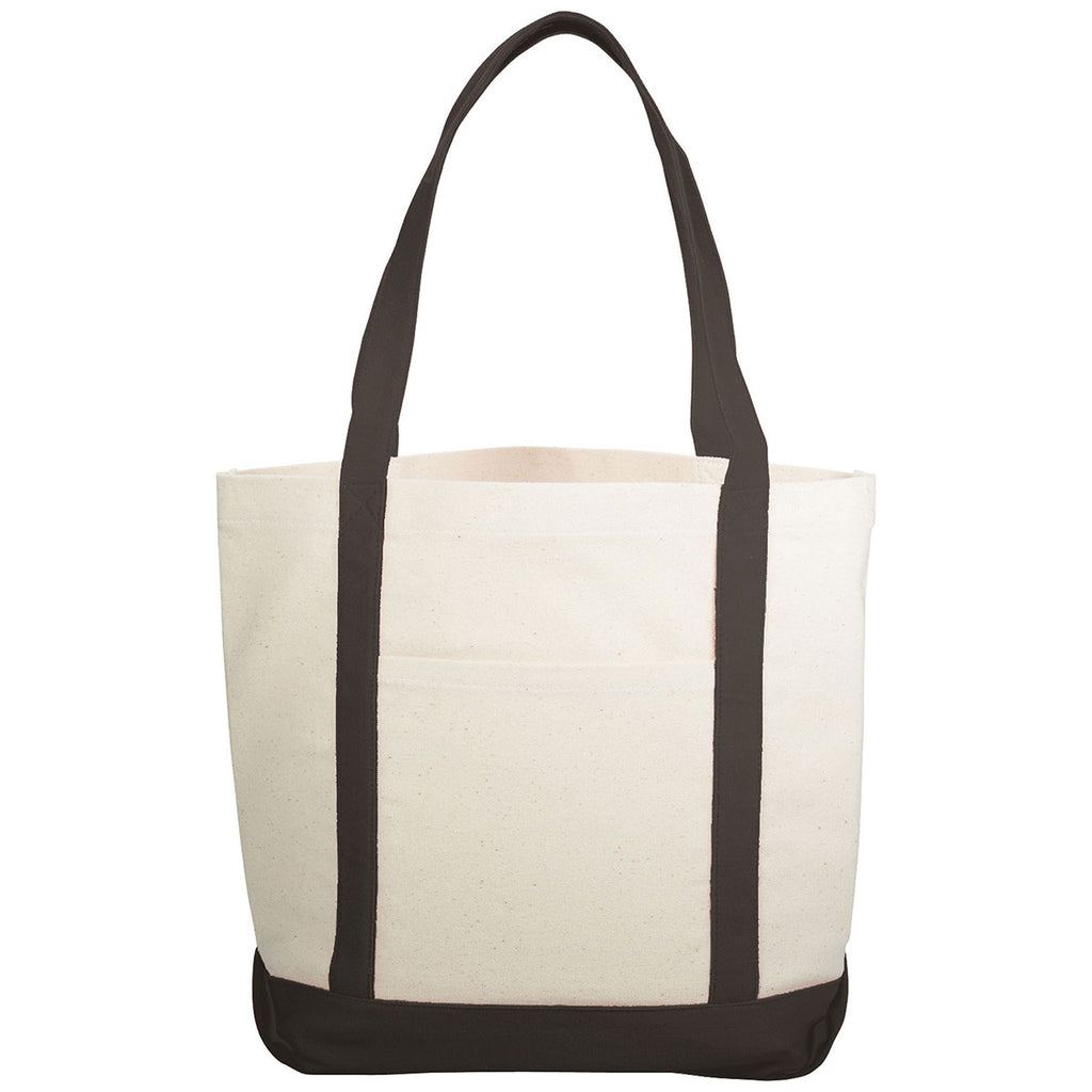 Bullet Black Casablanca 10oz Cotton Canvas Boat Tote