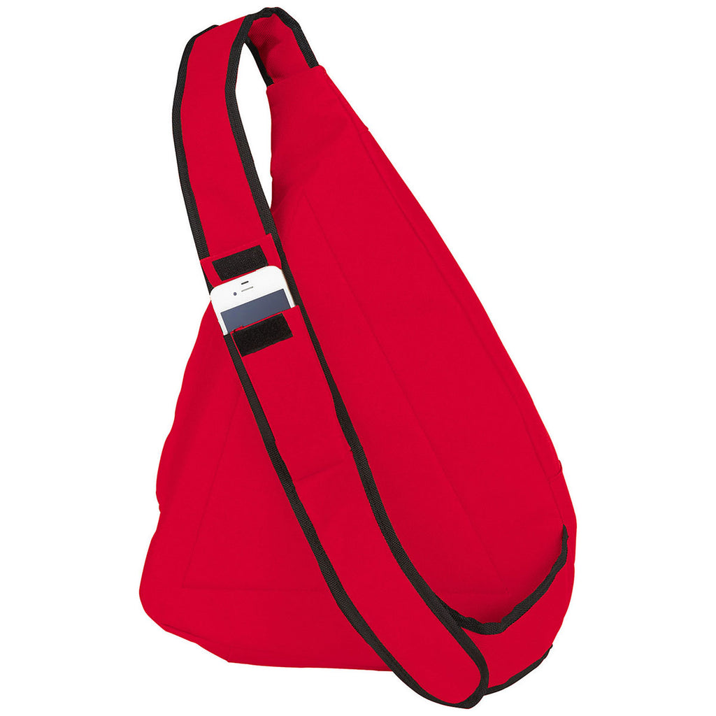 Bullet Red Brooklyn Deluxe Sling Backpack