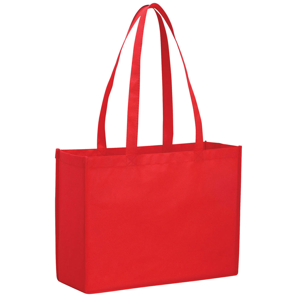 Bullet Red Evermore Non-Woven Shopper Tote