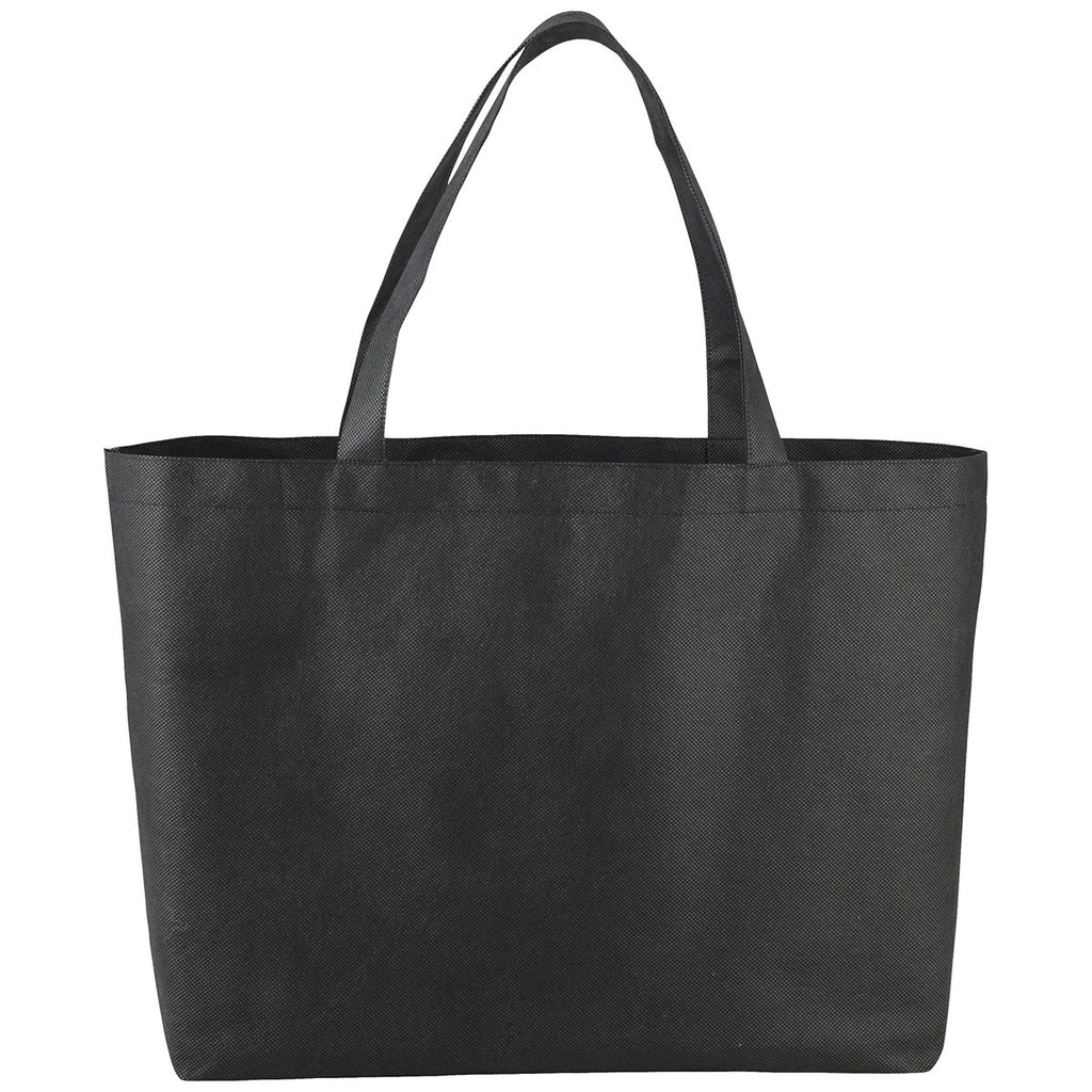Bullet Black Big Boy Non-Woven Shopper Tote