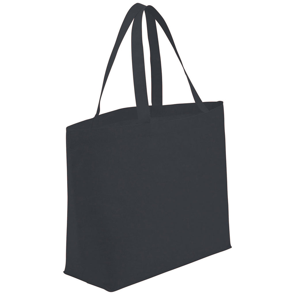 Bullet Charcoal Big Boy Non-Woven Shopper Tote