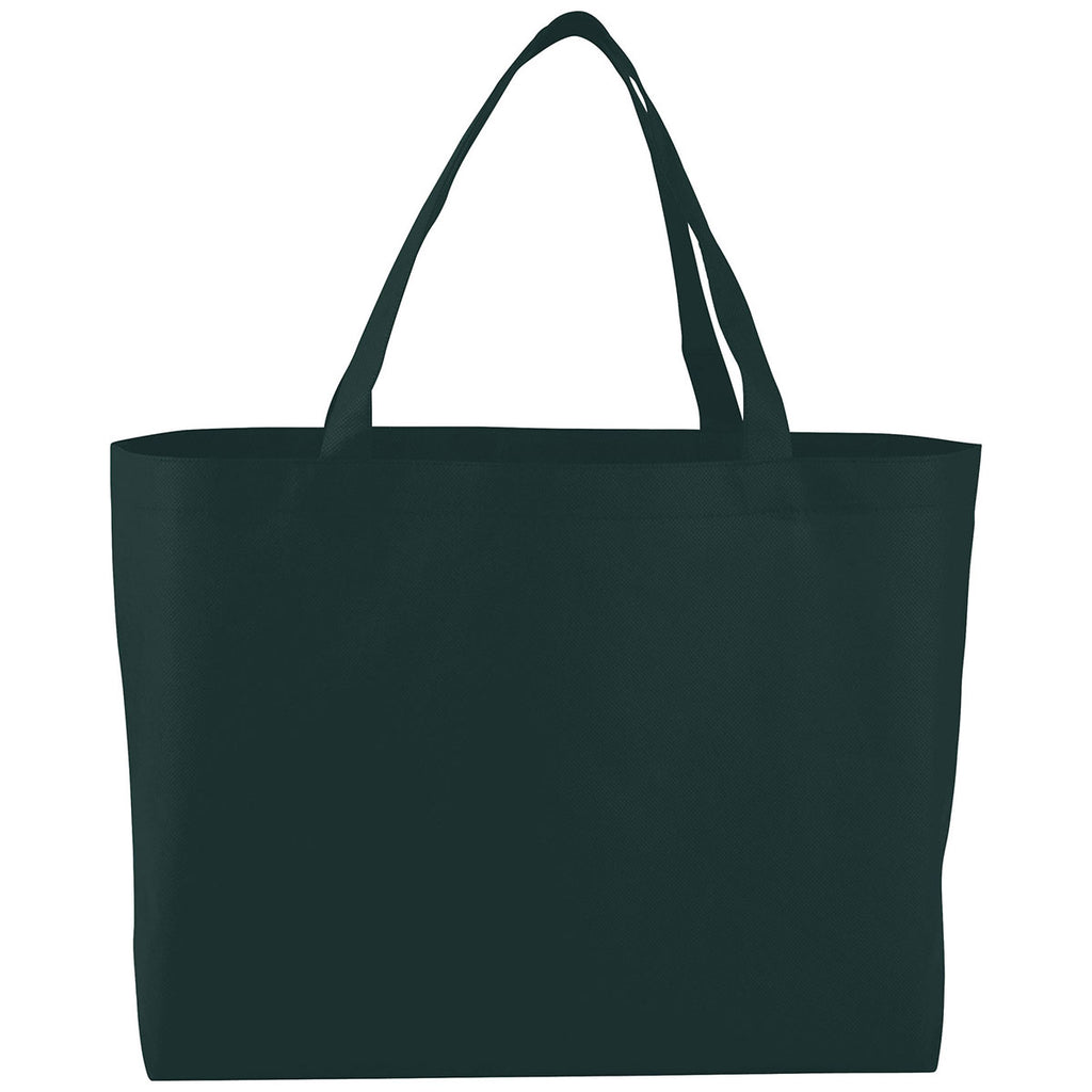 Bullet Hunter Green Big Boy Non-Woven Shopper Tote