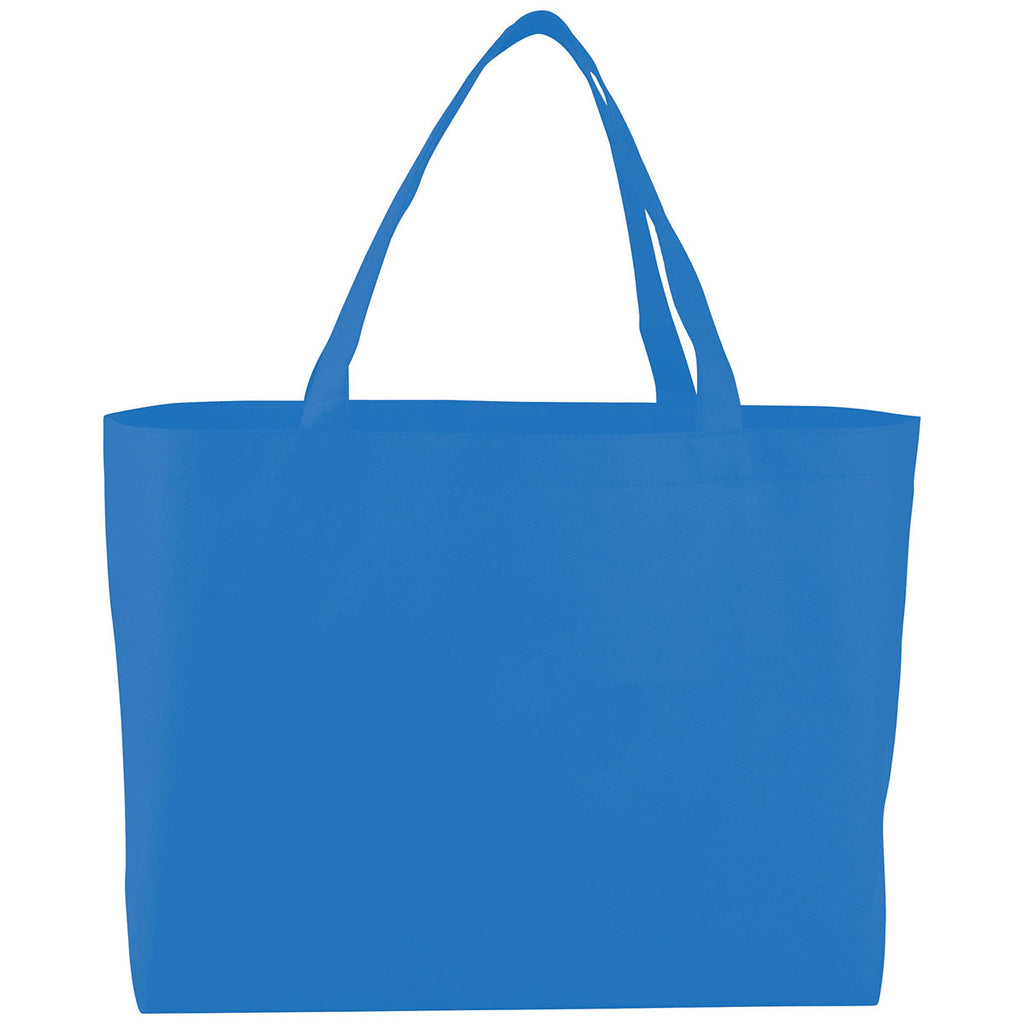 Bullet Process Blue Big Boy Non-Woven Shopper Tote