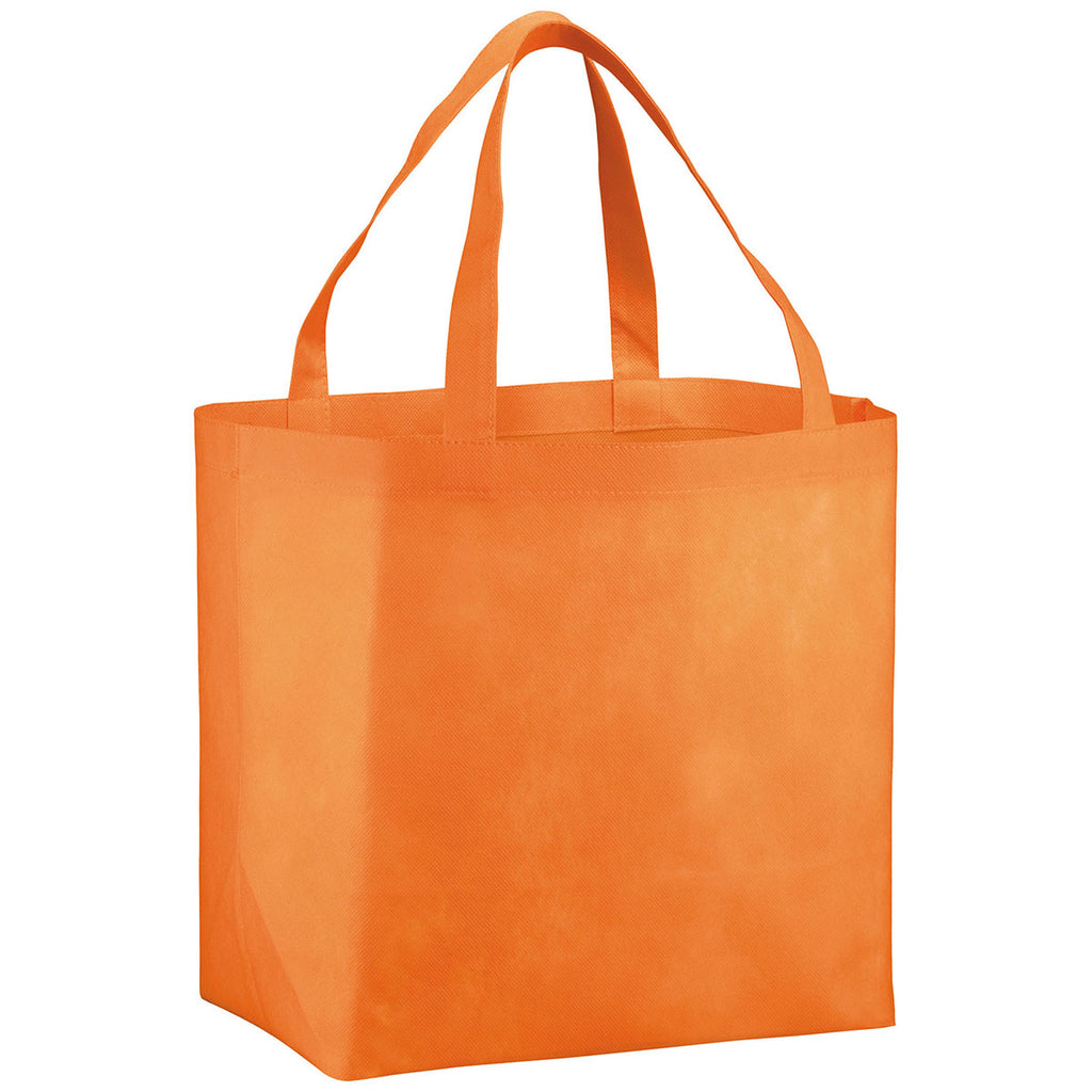 Bullet Orange YaYa Budget Non-Woven Shopper Tote