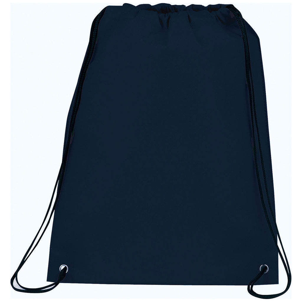 Bullet Navy Blue Champion Heat Seal Drawstring Bag