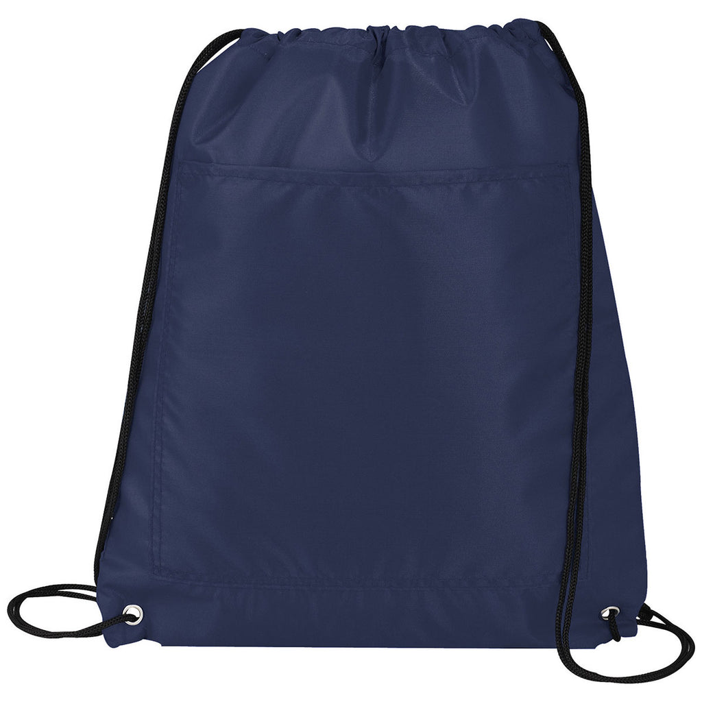 Bullet Navy Blue Amphitheater Insulated 12-Can Event Cool Drawstring