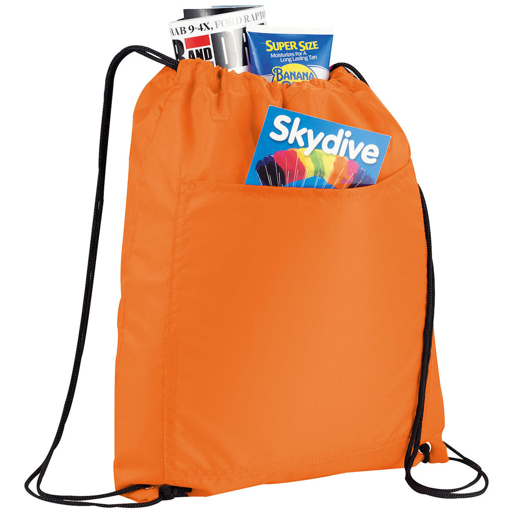 Bullet Orange Amphitheater Insulated 12-Can Event Cool Drawstring