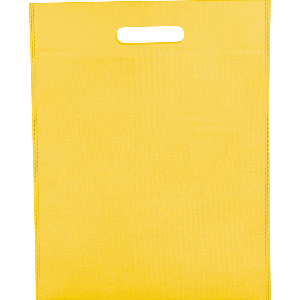 Bullet Yellow Large Freedom Heat Seal Non-Woven Tote